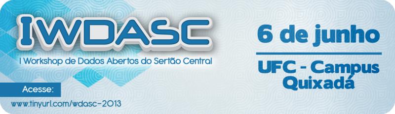 Acesse o site do WDASC 2013